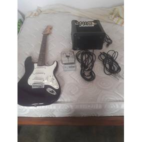 Guitarra, Amplificador, Pedalera, Afinador, Accesorios.