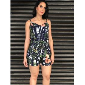 Roupas Femininas Shorts Feminino Cinto Tecido Bolso Lateral