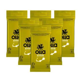 Kit Olla Preservativo Prolong 6uni. Com 6 Packs