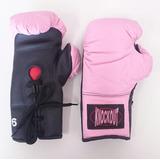 Luva Boxe Knockout Rosa 6 Oz - Onças