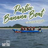 Banana Boat 8 Lugares + Coletes Salva Vidas + Bomba Eletrica