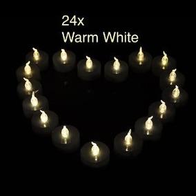 5c86fc429c6 24pcs Weanaså¨ Led Tealights Velas Reloj De Luz Té Timing Bl