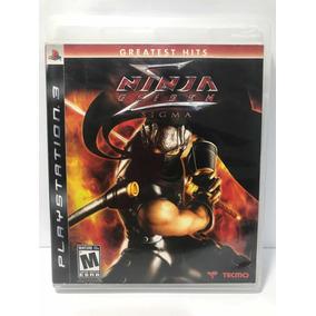 Jogo P/ Playstation 3 Ps3 Físico(cd) Ninja Gaiden