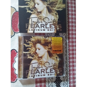 Cd+dvd Fearless Platinum - Taylor Swift