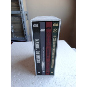 Box 4 Livros Star Wars! Capa Dura E Box! Ed. Bertrand 2015