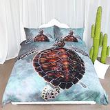 Sea Turtle Arightex De Cama Tortuga De Honu Wave Funda Nórdi