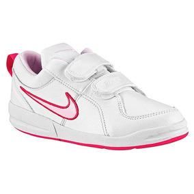 07c98610c Tenis Nike Pico 4 (tdv) Blanco-rosa Tallas  11 Al  16