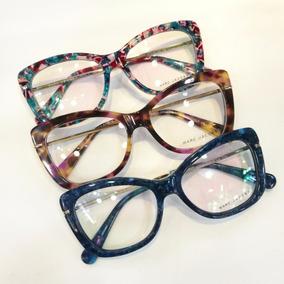 Oculos Grau Metal Retangular Marc Jacobs - Óculos no Mercado Livre ... 039e293342