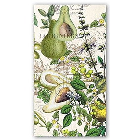 Michel Design Works 15 Count 3 Papel Ply Hostess Napkins Av