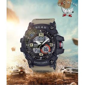 200e6963dd3 Relógio Masculino Esportivo Militar Digital Led Ponteiro Top