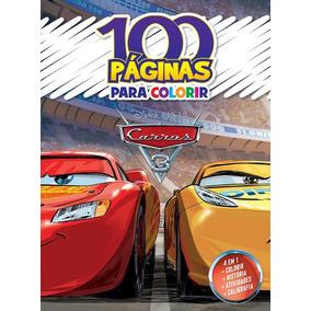 Kit Com 7 Livros 100 Páginas Cada Para Colorir Disney Promoç