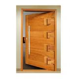 Porta Pivotante Passione Nova 2,10m X 1,20m - Madeira Maciça