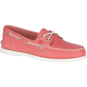 Sperry Top-sider Ao W Red (confirmar Disponibilidad)