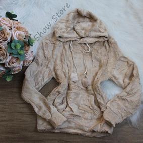 Roupas Femininas Blusa Frio Pelinho Peluciada Moleton 2564