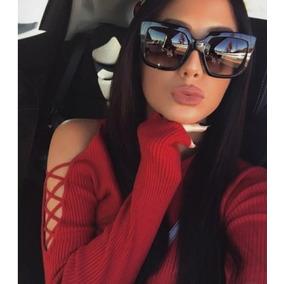 8552d1db93787 Óculos Da Moda Feminino Escuro Estiloso Moderno Uv400 Praia. R  39 63