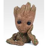 Vaso Homem Arvore Groot Guardiões Da Galáxia 16cm