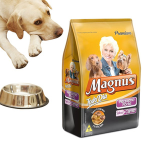 Ração Magnus Cães De Pequeno Porte Nutritiva Barato Boa 1kg