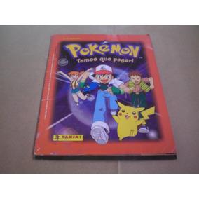 Álbum De Figurinhas Pokémon - Temos Que Pegar. Frete Grátis