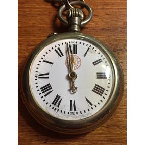 71137a73b69 Relogio De Bolso Roscoff Patent - Relógios De Bolso no Mercado Livre ...