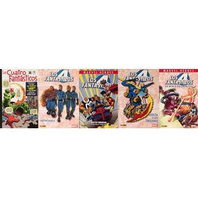 Lote Cuatro 4 Fantásticos - Stan Lee Jack Kirby John Byrne