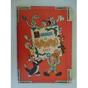 Almanaque De Mindinho 1953! Ebal! Pernalonga!