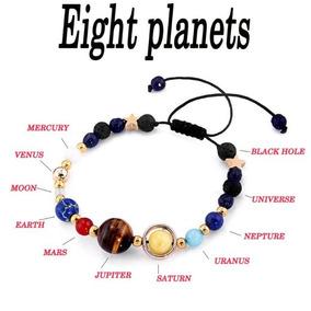 Pulcera Brazalete Planetas Trendy Moda Unisex Universo Egrat