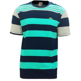 Camisa Lacoste Listrada - Calçados, Roupas e Bolsas no Mercado Livre ... d4d279fcac