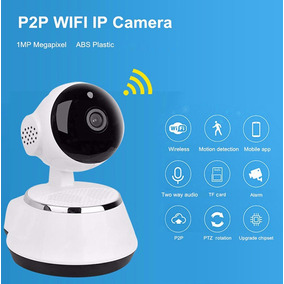 Câmera Segurança Interna Alfawise X9100 720p Ip Wifi