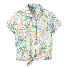 Camisa Florecitas Carters Talla 3