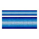 Cenefa De Mosaico Veneciano Aqua