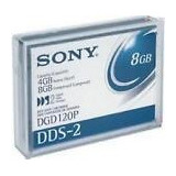 Sony Dgd-120p Dds-2 4/8gb 4mm Data Cartridge -5pk