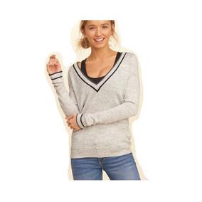 Sweaters Mujer - Ropa y Accesorios Plateado en Mercado Libre Argentina 5b9bbc28b3e3