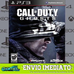 Call Of Duty Ghosts Ps3 Psn Game Digital Envio Já.