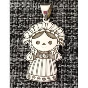 Muñeca De Amealco 4cm Joyería Plata .925 (otomí, María)
