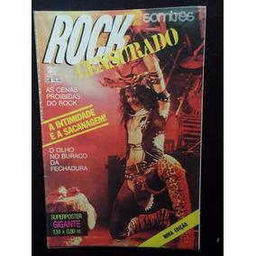 Rock Censurado - Iron Maiden - Ozzy - Poster - Raridade