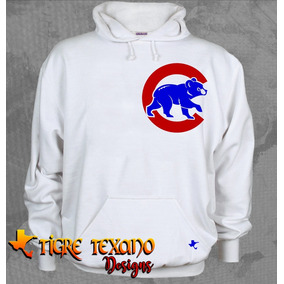Sudadera Mlb Cachorros Chicago Cubs By Tigre Texano Designs