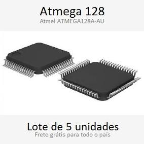 5x Atmega128 Smd. 128kb Flash (pronta Entrega)