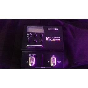 Line 6 M5 Stomp Box Multiefectos Para Guitarra Y Bajo