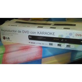 Reproductor De Dvd Con Kareoke Lg Dv647