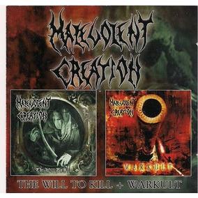 Malevolent Creation - Warkult + The Will To Kill Duplo
