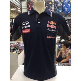 Camisa Camiseta Polo Formula 1 F1 Red Bull Corrida Algod O ... 932607e7d79