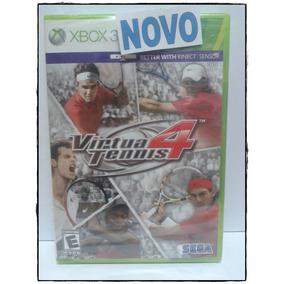 Virtua Tennis 4 Mídia Física Xbox 360 Lacrado C/ Nota Fiscal