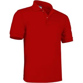 Playera Brans Tipo Polo Uniforme Empresas S - Xl Roja ·   245 095d302b33ead