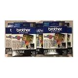 Brand New! Five (5) Brother Lc51bk Black Ink Cartridge Innob