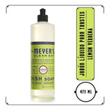 Mrs. Meyer's, Jabón Líquido Para Trastes,lemon Verbena,473ml