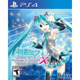 Hatsune Miku Project Diva X Ps4 Digital Gcp