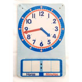 Reloj De Pared Tipo Pintarrón