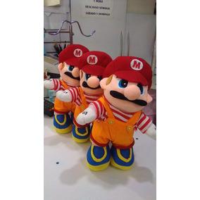 Peluche Juguete Super Mario Bross 30cm Importado