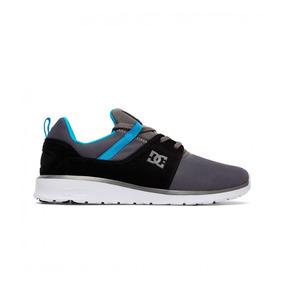 Tenis Hombre Heathrow Adys700071 Lgy Dc Shoes Gris