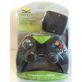 Xbox 1 (2001) : Controle Sem Fio Wirelles 2.4ghz Novo Lacrad